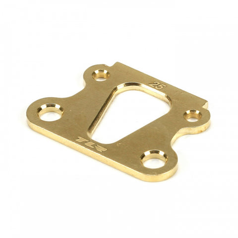 Team Losi Racing 25° Brass Kick Angle Shim (TLR 22) TLR1049