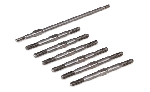 Team Losi Racing 22-4 Titanium Turnbuckle Set TLR334013