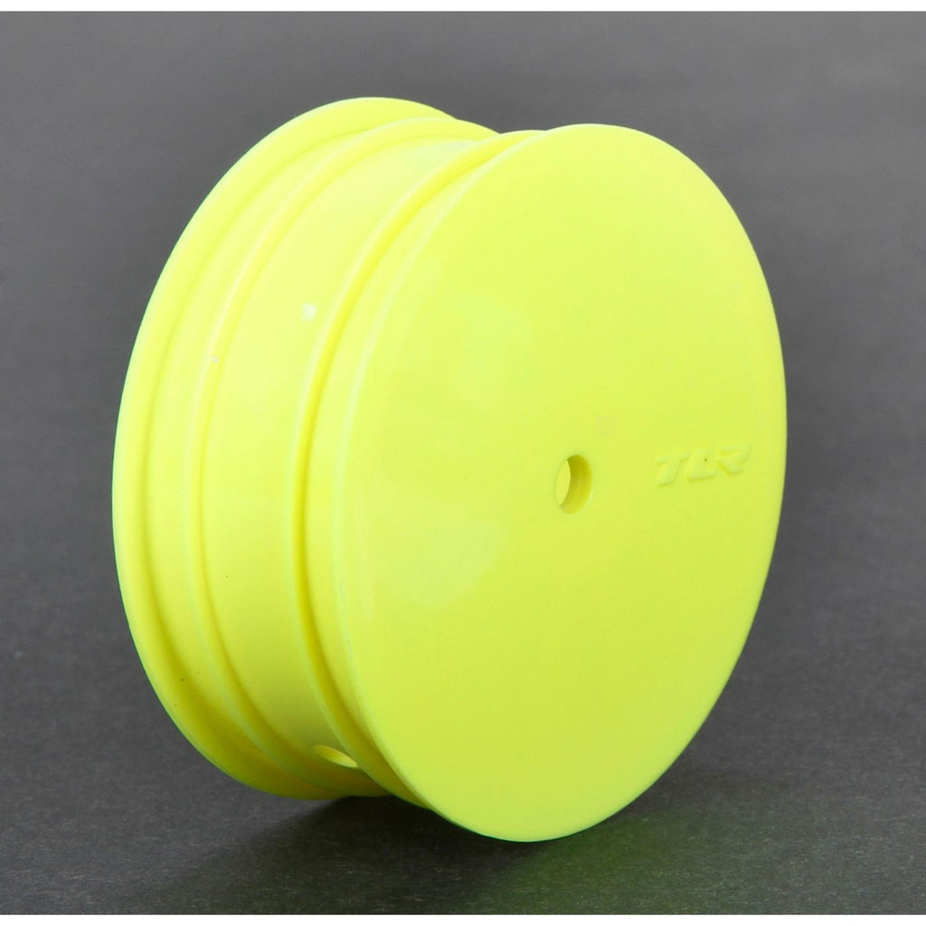 TLR Buggy Front Wheel 12mm Hex Yellow 22 3.0 4.0 TLR43010