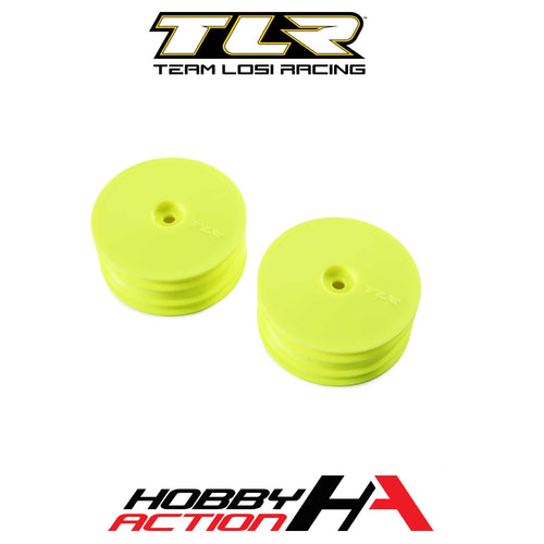 22X-4 Team Losi Racing TLR43022 Front Wheel White 2