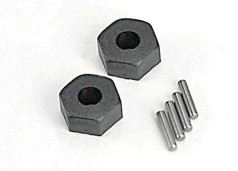 Traxxas 12mm Wheel Hex Hubs & Axle Pins TRA1654
