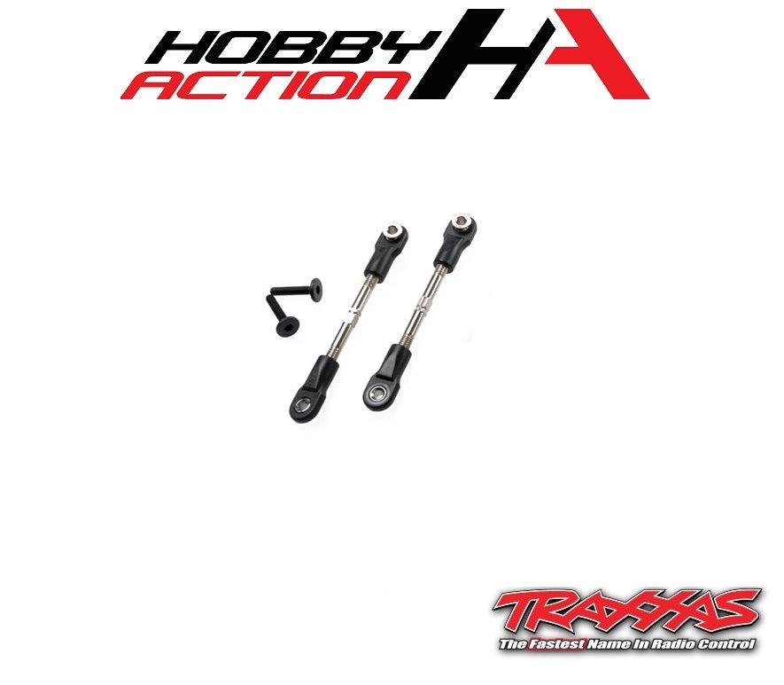 Traxxas Bandit 47mm Front Camber Link Turnbuckle Set (2) TRA2444