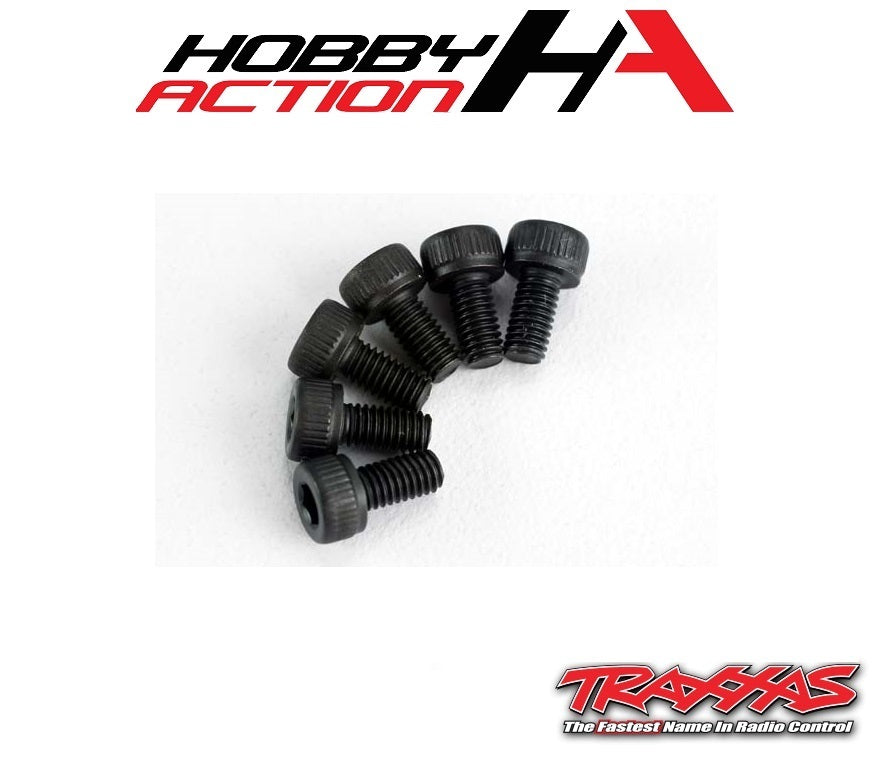 Traxxas (6) 3x6mm Screws Cap Head Hex TRA2554