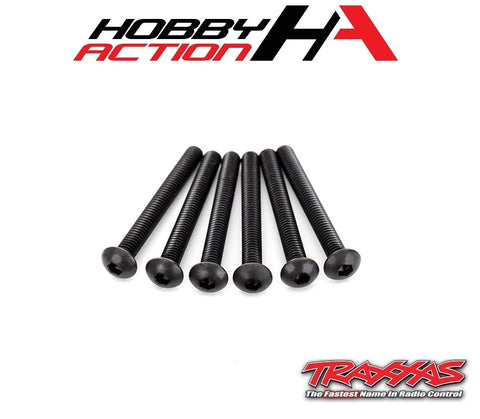 Traxxas (6) 4x30mm Screws Button Head Hex TRA2598X