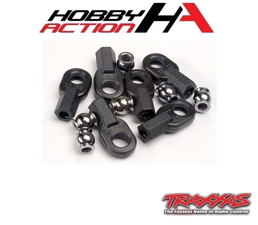 Traxxas Rod End With Hollow Balls (6) TRA2742