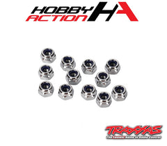 Traxxas (12) 3mm Nylon Locking Nuts TRA2745