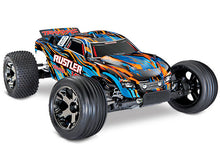 Load image into Gallery viewer, Traxxas Rustler VXL Brushless 1/10 RTR Stadium Truck TRA37076-4