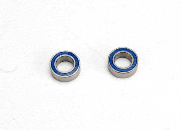 Traxxas 4x7x2.5mm Blue Rubber Sealed Ball Bearing (2) TRA5124