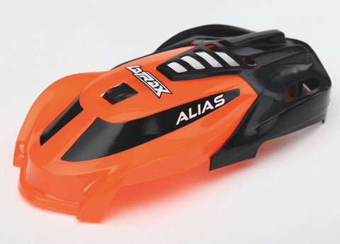Traxxas LaTrax Alias Canopy (Orange) TRA6613