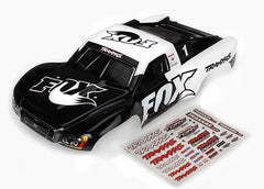 Traxxas Slash 4X4 Slash, Fox Edition Painted Decals Applied TRA6849
