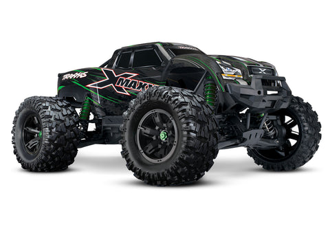 Traxxas X-Maxx 8S 4WD Brushless RTR Monster Truck Green TRA77086-4GRN