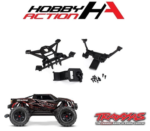 Traxxas X-Maxx Front & Rear Body Mount Set TRA7715