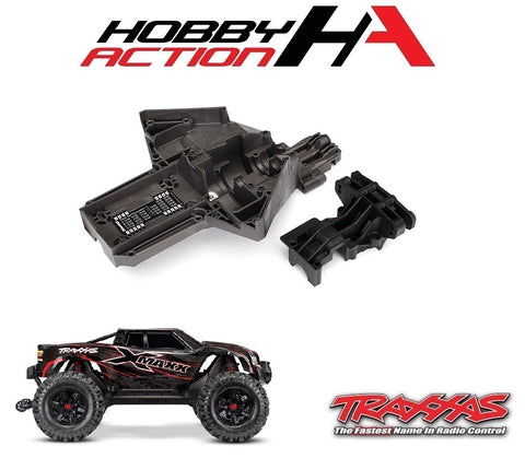 Traxxas X-Maxx Rear Upper Lower Bulkhead TRA7727X