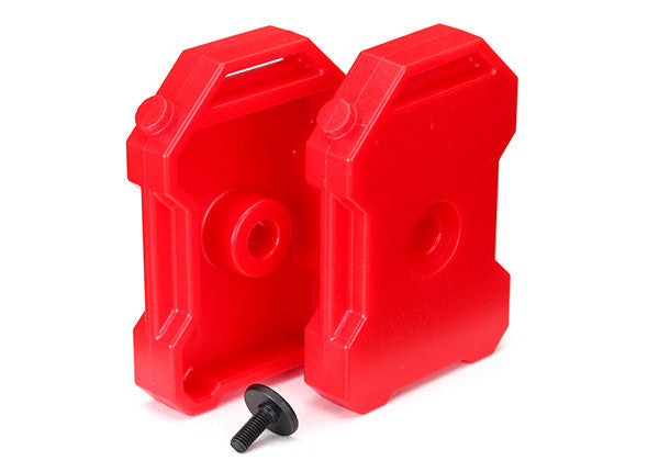Traxxas TRX-4 Fuel Canisters Red TRA8022