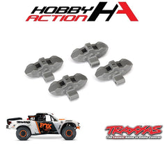 Traxxas Unlimited Desert Racer Front/Rear Brake Calipers Grey TRA8567