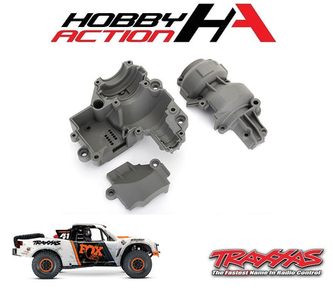 Traxxas Unlimited Desert Racer Gearbox Housing Set TRA8591