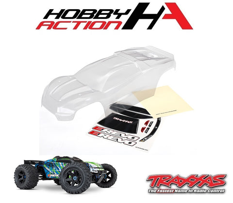 Traxxas E-Revo VXL 2.0 Monster Truck Clear Body TRA8611