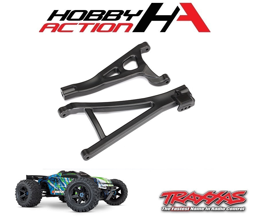 Traxxas E-Revo VXL 2.0 Front Right Heavy Duty Suspension Arm Set TRA8631