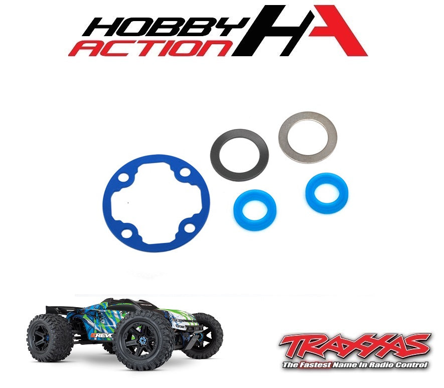 Traxxas E-Revo VXL 2.0 Differential Gasket Set TRA8680