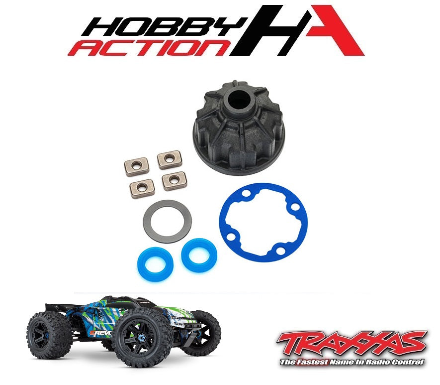 Traxxas E-Revo VXL 2.0 Heavy Duty Differential Case Carrier Set TRA8681