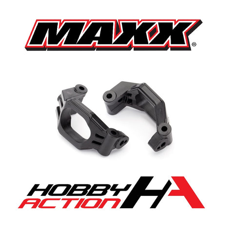 Traxxas MAXX Caster Black Left Right Black Plastic TRA8932