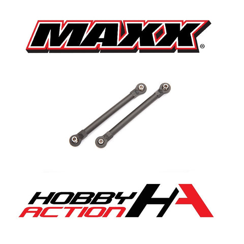 Traxxas MAXX Toe Link Tubes Front Black Plastic TRA8948