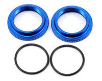 Team Associated B5M B6 B64 12mm Big Bore Threaded Collar Blue ASC91304