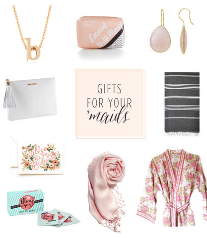 Gift ideas for your bridesmaids <3