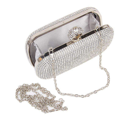 Wholesale Double sided ring clutch bag UK