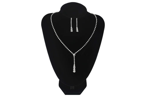 Drop Pendant Style Necklace Prom Wedding Bridesmaids Jewellery - Sahari Collections