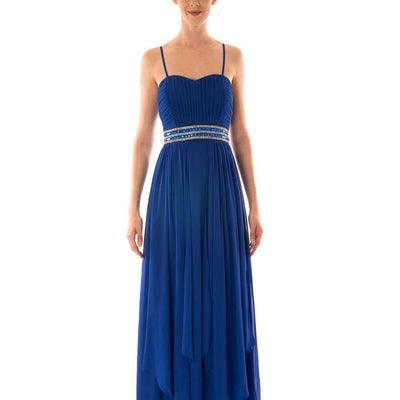 Wholesale Long Wholesale Prom Dresses With Layered Front UK