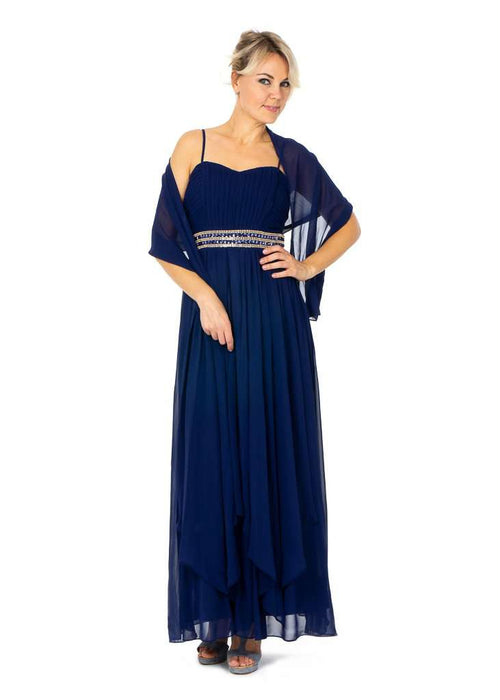 boutique fashion wholesale Uk, Wholesale Long Wholesale Prom Dresses With Layered Front UK