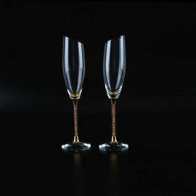 Wine glasses Bevel crystal champagne flutes Coupe champagne glasses Wedding champagne flutes Flute glass