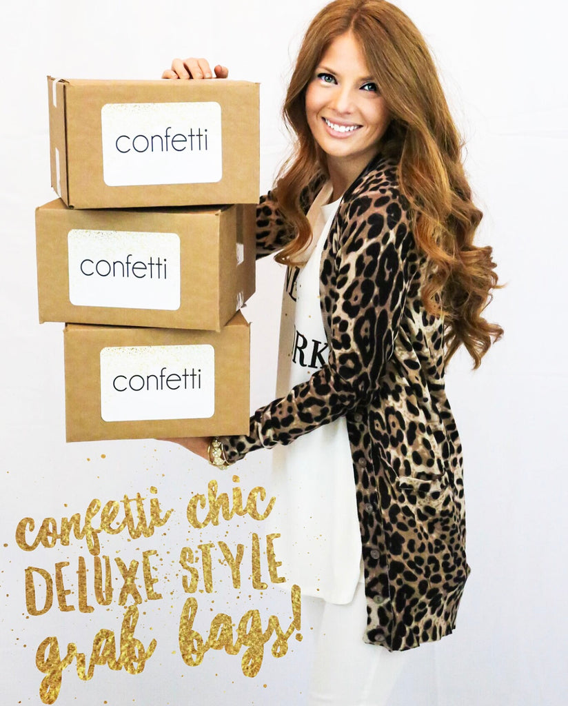 Confetti Chic Deluxe Style Grab Bag - 10 items
