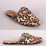 Walk on the Wild Side Animal Print Mules