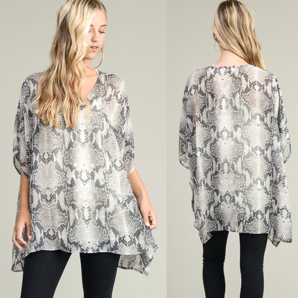 Slither My Way Tunic