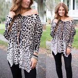 Blurred Vision Cheetah Pullover