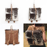 Beaumont Backpack - Confetti Cowhide Collection
