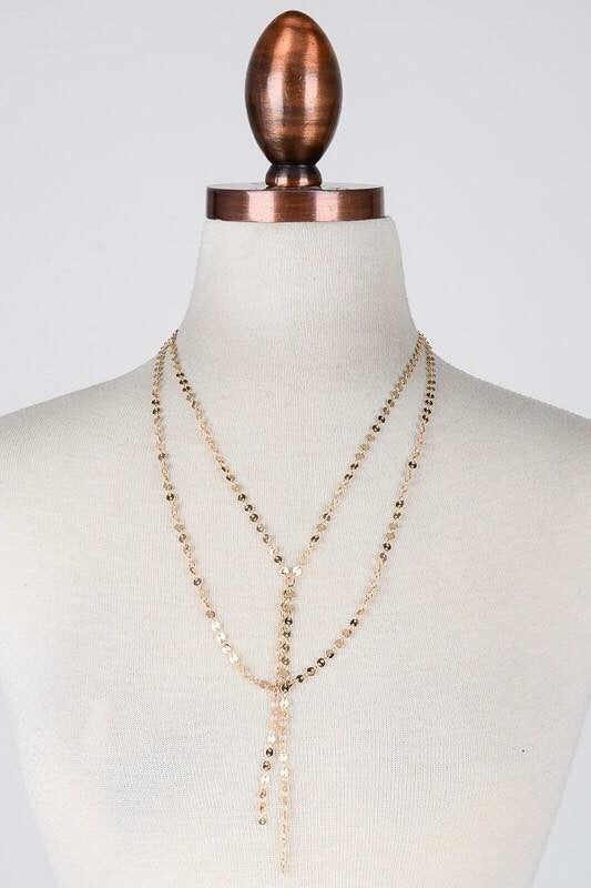 Blogger Gal Layered Necklace - Gold
