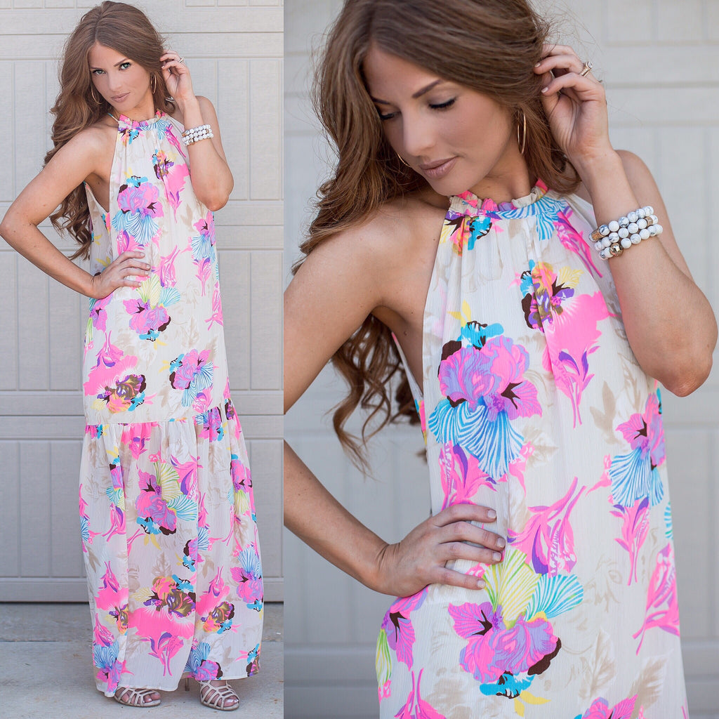 Ivy Hummingbird Maxi Dress by STR
