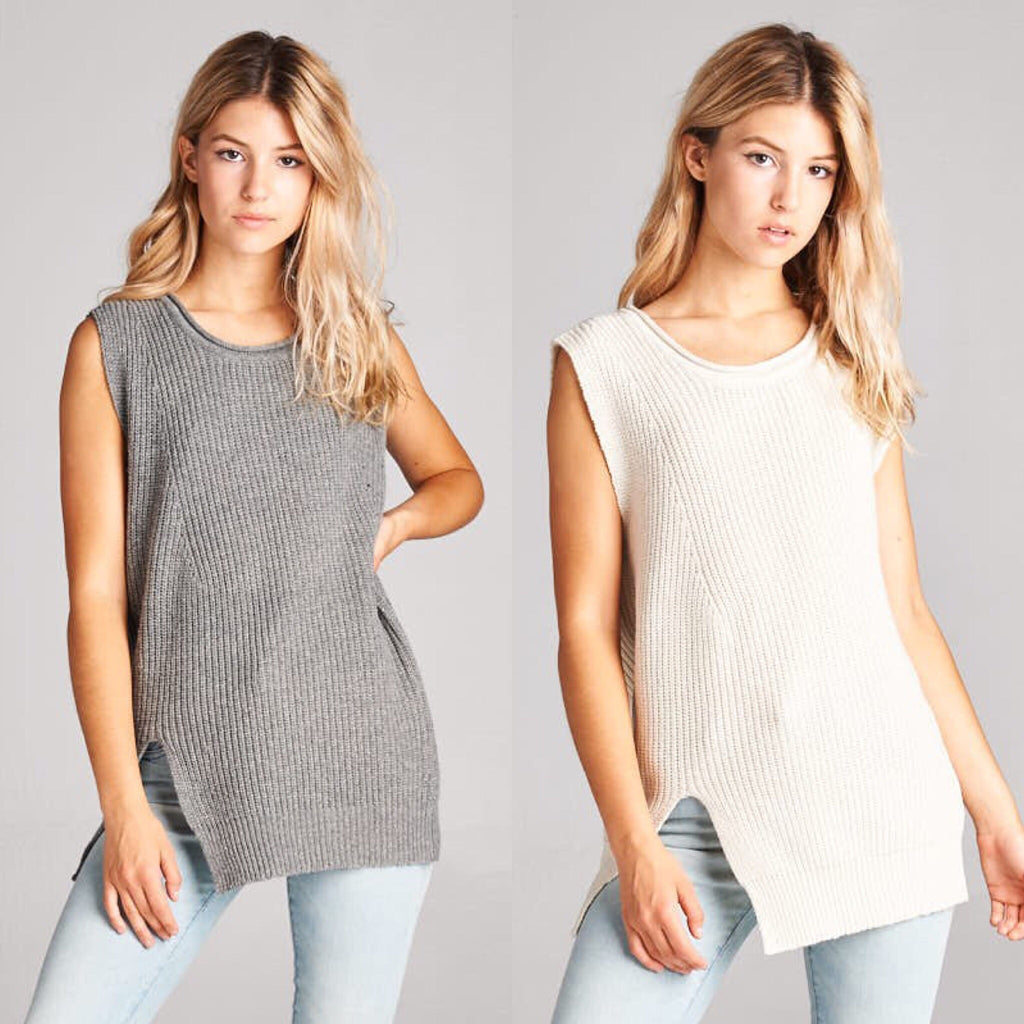 Cool and Crisp Sweater Tank