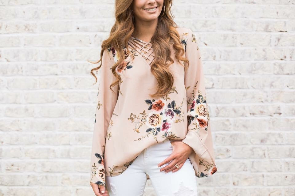 Floral Flair Top