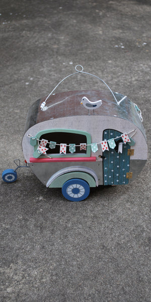 Girly Girl Camper/Birdhouse