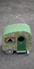 Watermelon Camper/Birdhouse