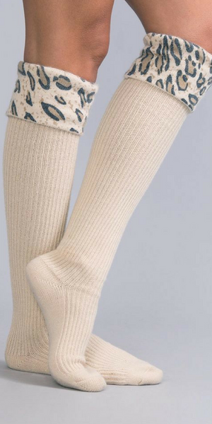 WILD SIDE TALL SOCKS