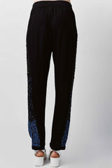 Blue Bling Joggers