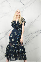 Midnight Blooms Dress