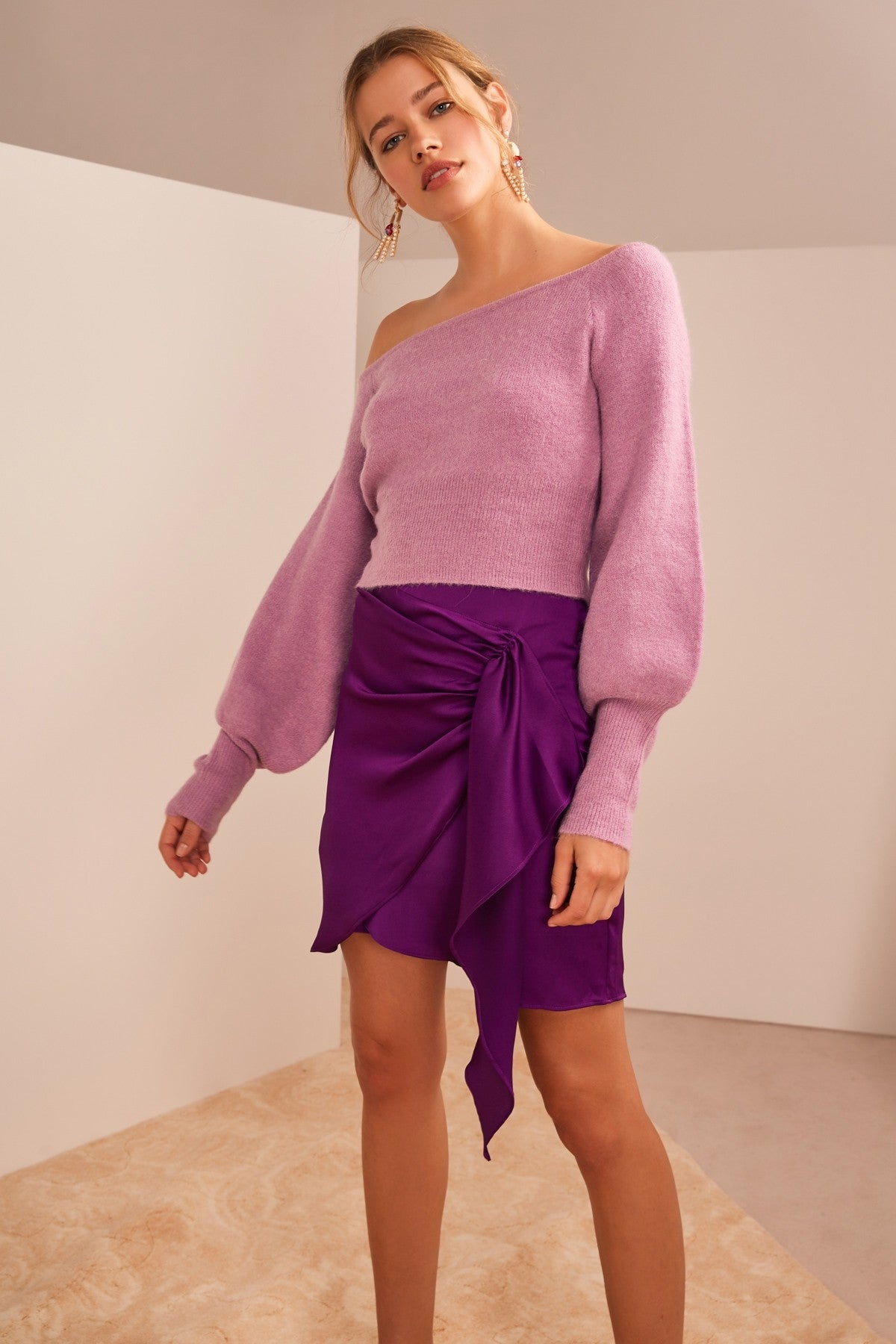 Like This Top Lilac