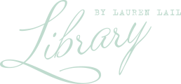 Library by Lauren Lail logo
