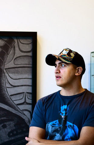Come meet Tahltan Native Artist Alano Edzerza on Saturday, November 7th 2015 between 3:00 - 5:00 pm